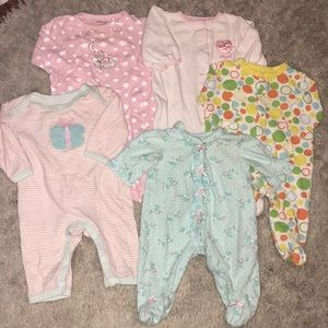 Other - Lot of five 3 month footies